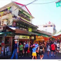 新北市休閒旅遊 景點 觀光商圈市集 金山老街 照片