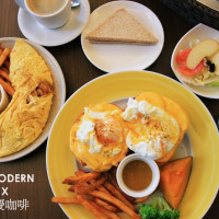 台中市美食 餐廳 異國料理 美式料理 久慶咖啡。早午餐 照片