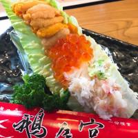 台中市美食 攤販 壽司 鵝房宮 照片
