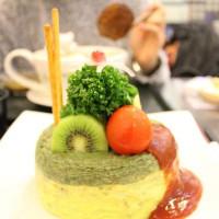 台中市美食 餐廳 異國料理 日式料理 芙葉屋蛋糕蛋包飯 照片
