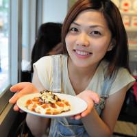 台北市美食 餐廳 飲料、甜品 MR.PAPA waffle & cafe 照片