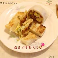 台北市美食 餐廳 中式料理 實踐街蛋餅 照片