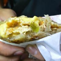 台北市美食 餐廳 中式料理 麵食點心 蟹老闆古早味手工蔥油餅 照片
