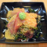 台北市美食 攤販 異國小吃 海鱻味刺身壽司屋 照片