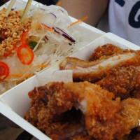 台北市美食 攤販 台式小吃 龍哥無骨雞腿排 (公館店) 照片