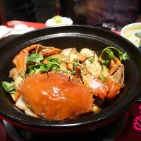 台北市美食 餐廳 中式料理 川菜 过海香辣蟹 照片