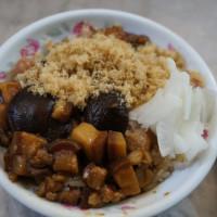 台南市美食 攤販 台式小吃 榮盛米糕 照片