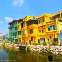 金門縣休閒旅遊 景點 景點其他 山外溪彩繪牆 照片