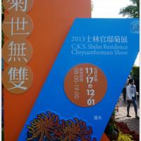 台北市休閒旅遊 景點 公園 2013 台北士林官邸「菊世無雙」菊花特展 照片