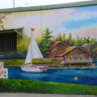 桃園市休閒旅遊 景點 景點其他 坑口彩繪村 照片