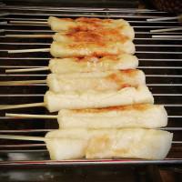 台北市美食 攤販 異國小吃 日式碳烤麻糬 照片