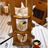 台中市美食 餐廳 異國料理 義式料理 紙箱王火車餐廳 照片