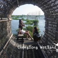 雲林縣休閒旅遊 景點 海邊港口 成龍濕地 照片