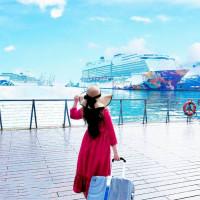 基隆市休閒旅遊 景點 海邊港口 基隆港│繽紛七彩鴛鴦 嬌豔登場 照片