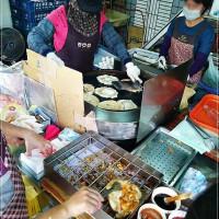 宜蘭縣美食 攤販 台式小吃 礁溪蔥油餅 照片