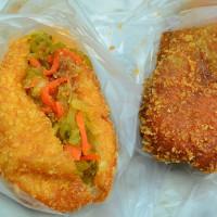 台中市美食 攤販 包類、餃類、餅類 科博館水煎包 照片