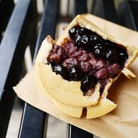 新北市美食 攤販 甜點、糕餅 伍師傅車輪餅(板橋中山店) 照片