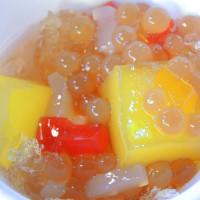 台中市美食 攤販 冰品、飲品 樹下阿婆粉圓冰 照片