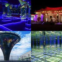 彰化縣休閒旅遊 景點 展覽館 台灣玻璃館 照片