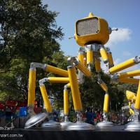 宜蘭縣休閒旅遊 景點 公園 2014 宜蘭員山機器人燈節 照片