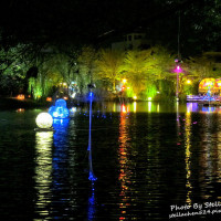 台南市休閒旅遊 景點 景點其他 2014月津港燈節 照片