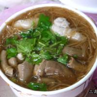 新竹縣美食 攤販 麵線 華興麵線糊 照片