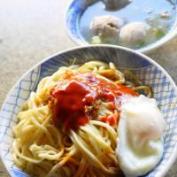 新竹市美食 攤販 台式小吃 新源街麵店 照片