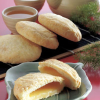 台中市美食 餐廳 烘焙 中式糕餅 嘉味軒太陽餅 照片