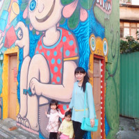 台北市休閒旅遊 景點 景點其他 萬華艋舺大道URS+彩繪屋 照片