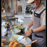 台南市美食 餐廳 中式料理 小吃 蔡家蚵嗲 照片