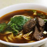 苗栗縣美食 餐廳 中式料理 麵食點心 韓鄉村牛肉麵 照片
