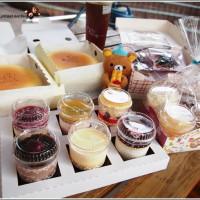 台南市美食 餐廳 烘焙 漢爺爺現烤起司蛋糕 照片