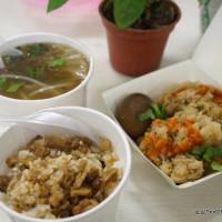 台中市美食 餐廳 中式料理 小吃 東海油飯肉羹 照片