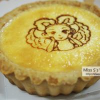 台北市美食 餐廳 烘焙 蛋糕西點 Sol將そるちゃん現烤起司塔 照片