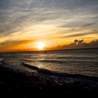 花蓮縣休閒旅遊 景點 海邊港口 花蓮區漁會向日廣場 照片