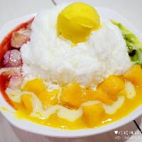 台北市美食 餐廳 飲料、甜品 剉冰、豆花 芒果皇帝 照片