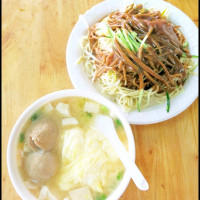台北市美食 餐廳 中式料理 中式早餐、宵夜 空軍涼麵 照片
