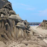 台中市休閒旅遊 景點 海邊港口 大安濱海樂園 照片