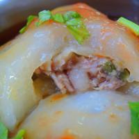 台北市美食 餐廳 中式料理 小吃 屏東清蒸肉圓 照片