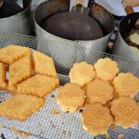 台南市美食 攤販 甜點、糕餅 鹽水雞蛋糕 照片