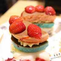 台北市美食 餐廳 烘焙 蛋糕西點 疊疊樂彩虹鬆餅(松菸店) 照片