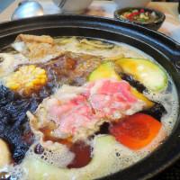 台中市美食 餐廳 火鍋 沙茶、石頭火鍋 36計石頭小火鍋 照片