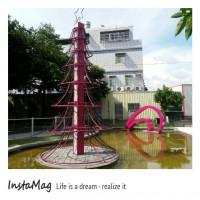 彰化縣休閒旅遊 景點 景點其他 粉紅色浪漫園區&北斗心動廣場 照片