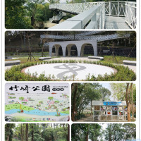 嘉義縣休閒旅遊 景點 公園 竹崎公園天空走廊 照片