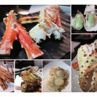台北市美食 餐廳 餐廳燒烤 燒肉 八田帝王蟹燒烤 照片