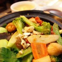 台北市美食 餐廳 素食 綠苗創意蔬食料理 照片