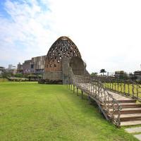 嘉義市休閒旅遊 景點 景點其他 咖啡色巨型蛋塔~森林之歌 照片