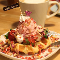 台北市美食 餐廳 飲料、甜品 飲料、甜品其他 My Waffle 比利時鬆餅 照片