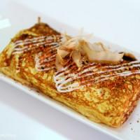 高雄市美食 餐廳 異國料理 日式料理 紙上城市玉子燒 照片