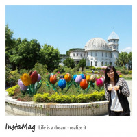 花蓮縣休閒旅遊 景點 景點其他 鬱金香花園城堡 照片